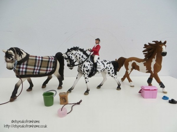 Schleich Farm Life New Horses Review
