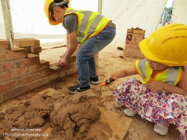 bricklayer at national forest adventure farm