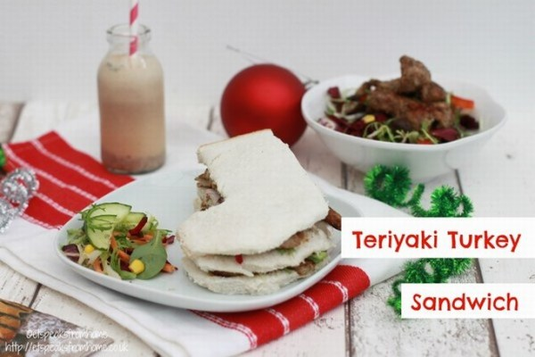 teriyaki turkey sandwich