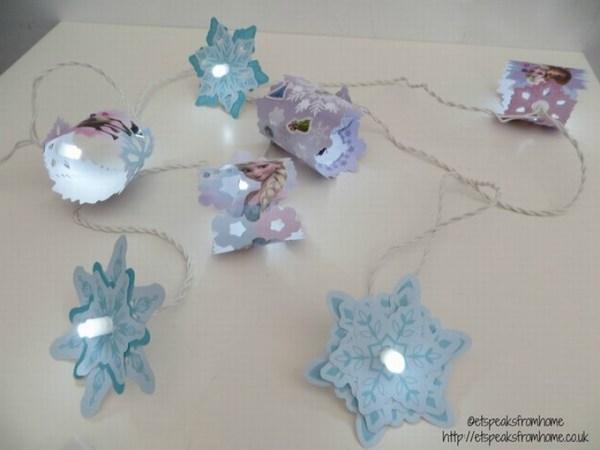 Frozen Fairy Lights lighting