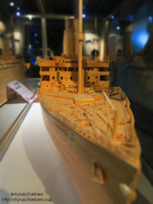 ripleys titanic matchstick