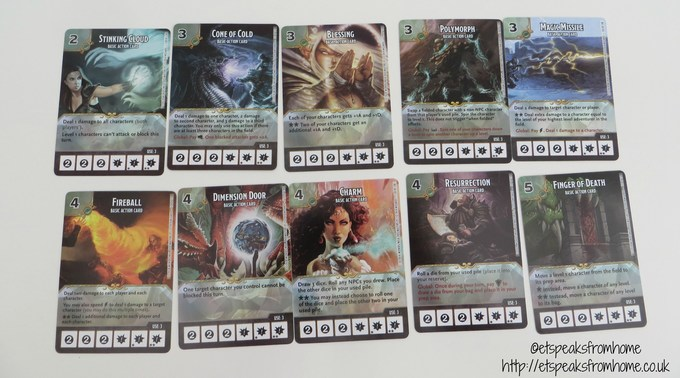 dice masters basic action cards