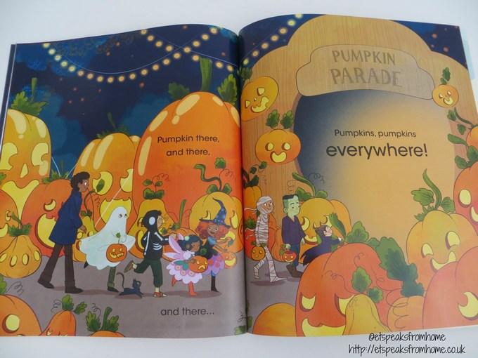 pumpkins pumpkins everywhere book review