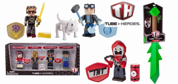 tube heroes toy