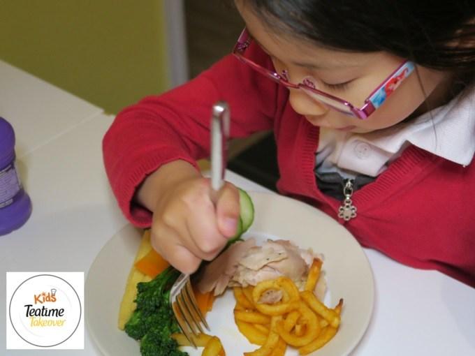 kids teatime takeover food