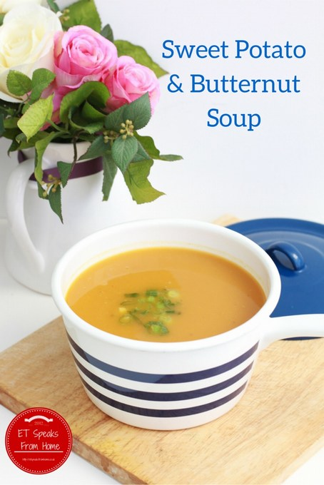 sweet potato & butternut soup