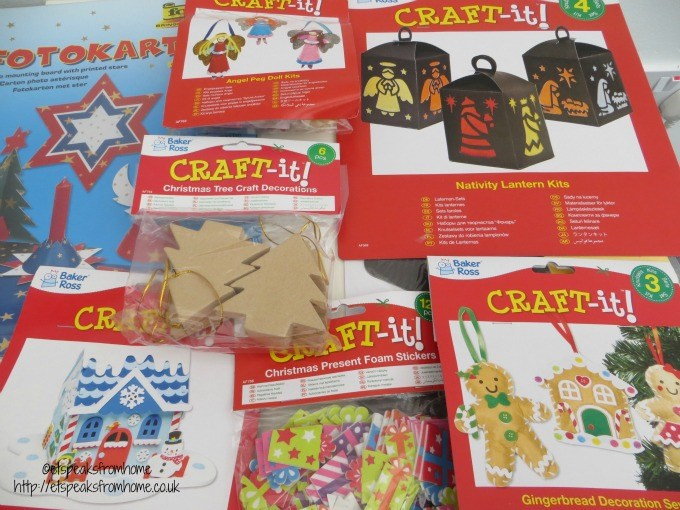 baker ross christmas craft