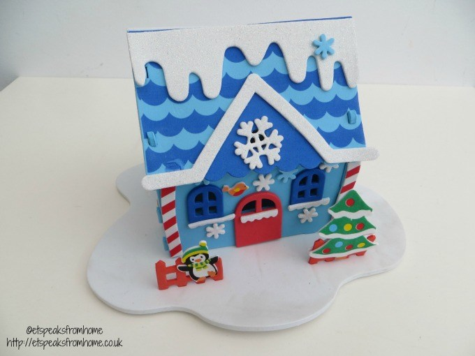baker ross christmas house