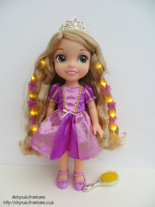 disney princess hair glow rapunzel review