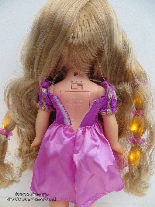 disney princess hair glow rapunzel switch