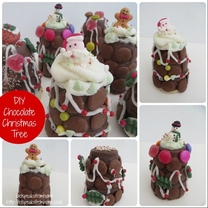 diy chocolate christmas tree
