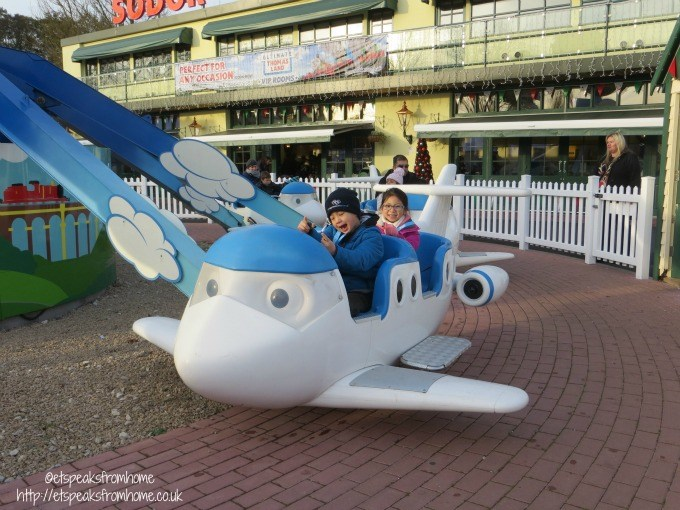 drayton manor flying school