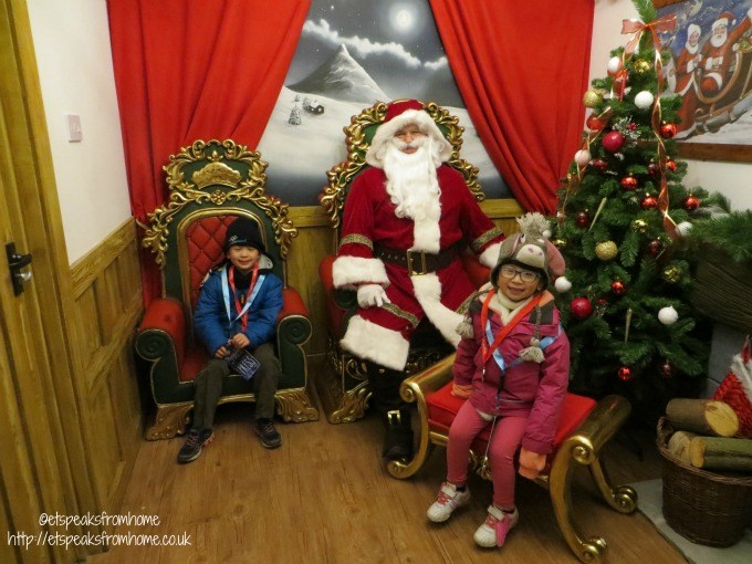 drayton manor santa