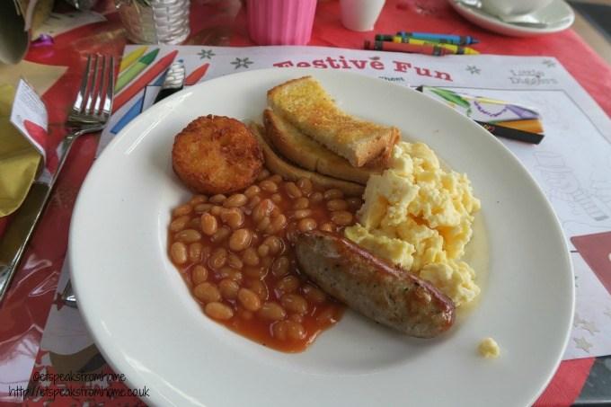 wyevale garden centre child breakfast