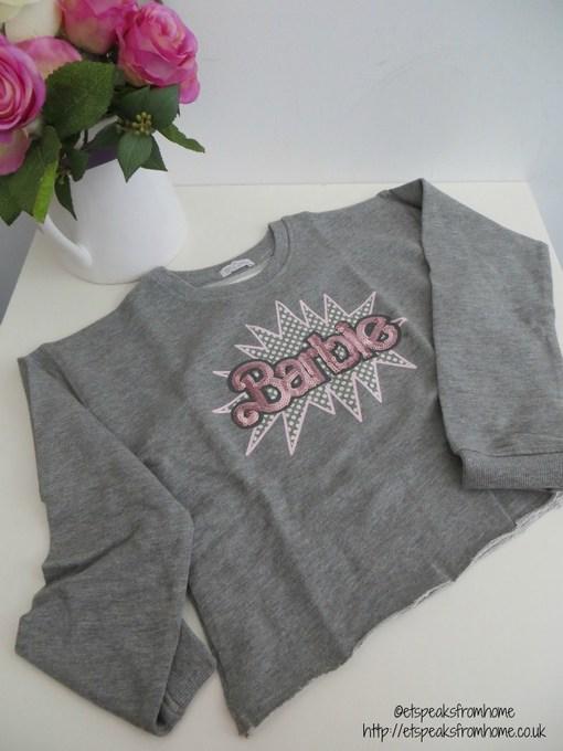 barbie cotton sweatshirt review