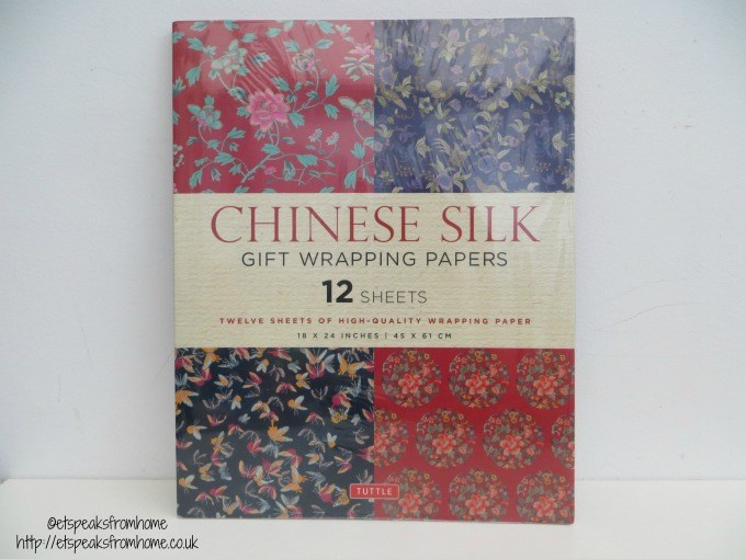 chinese silk wrapping papers