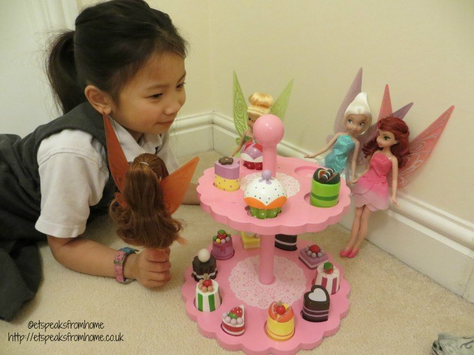 disney fairies tinker bell cupcake party
