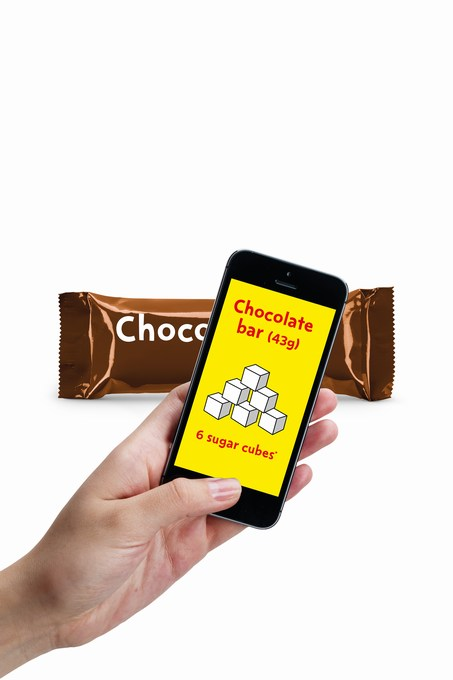 sugar smart app chocolate