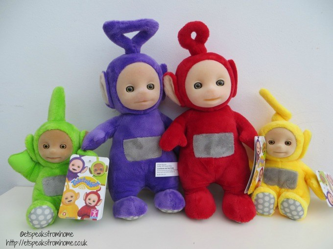 teletubbies soft toy review