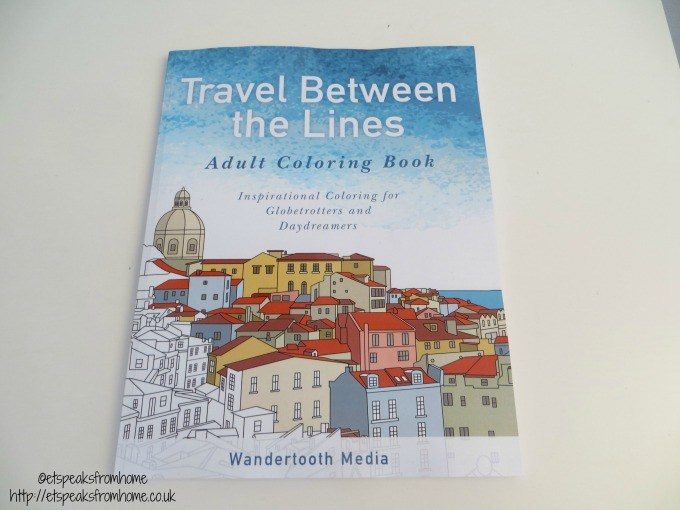 travel between the lines adult colouring book