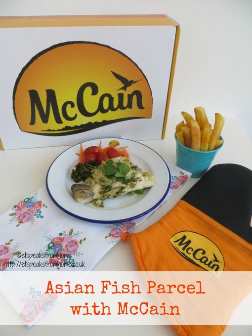 asian fish parcel with mccain