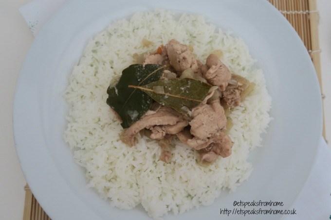 kitchen trotter ayam areh