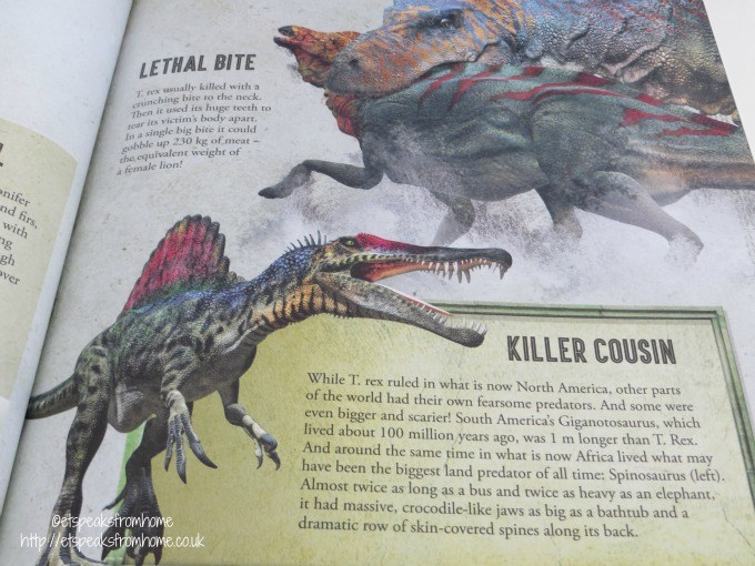 mega model t rex book review