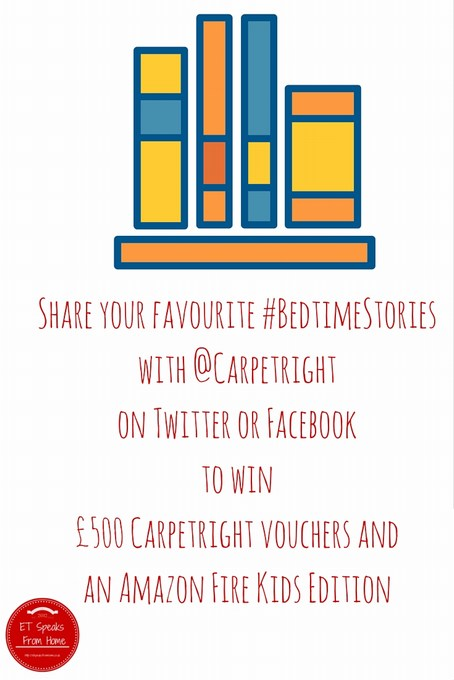 Share your favourite #BedtimeStories with Carpetright