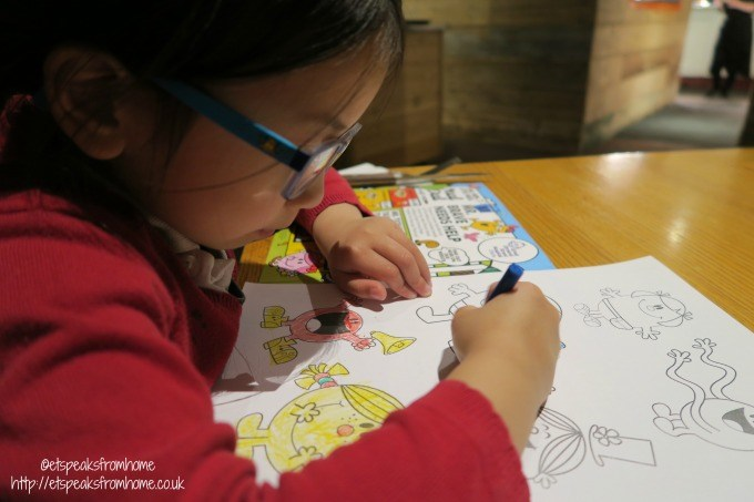 beefeater mr men colouring