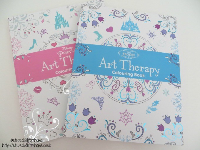 disney art therapy book