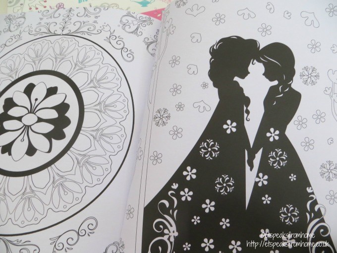 disney frozen art therapy book