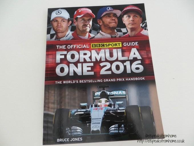 formula one 2016 book
