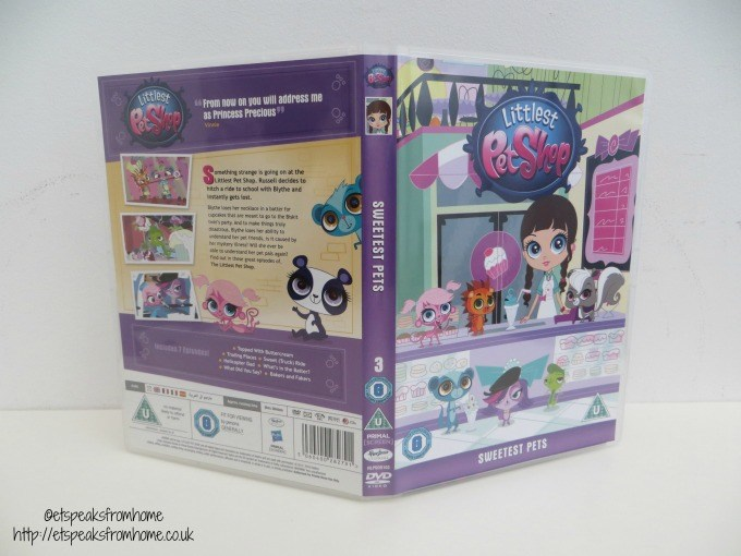 littlest pet shop sweetest pets dvd
