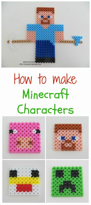 minecraft characters pixel art template
