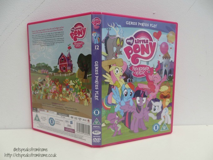 my little pony games ponies play dvd