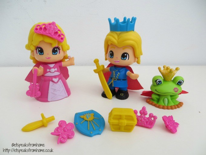 pinypon prince & princess set