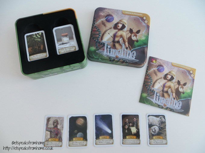timeline science & discoveries review