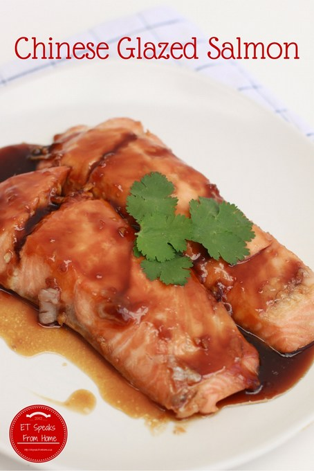chinese glazed salmon