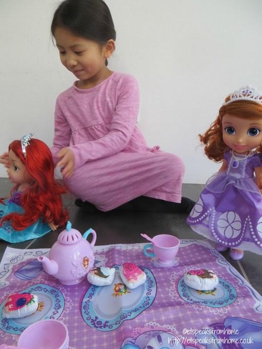 disney tea party with princess