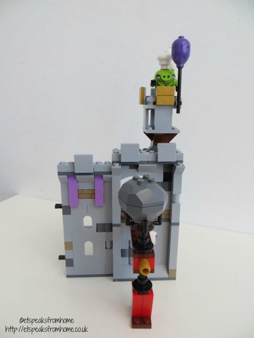 lego king pig castle boulder