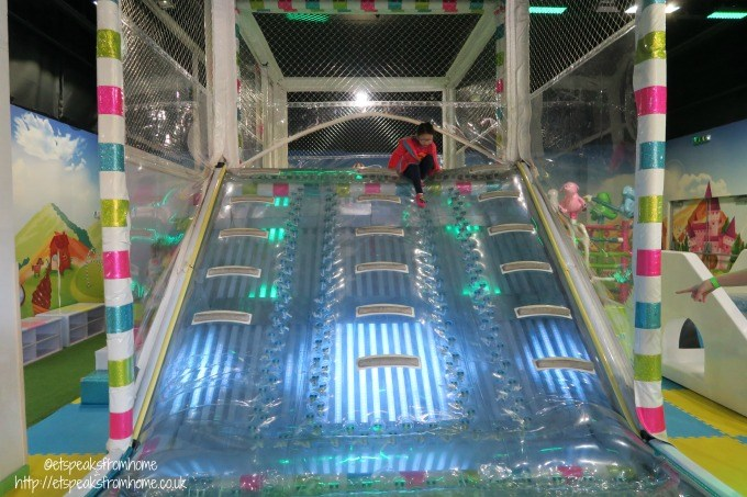 the quest soft play slide