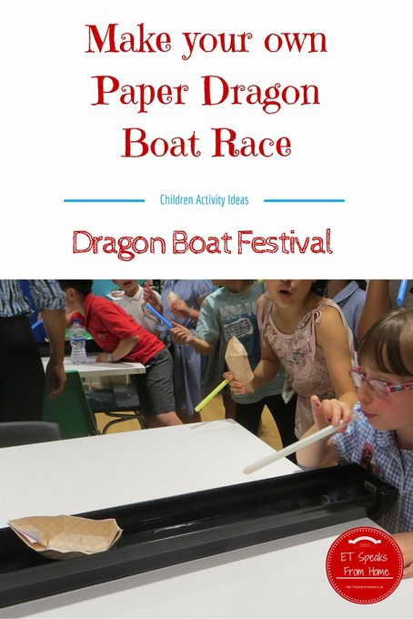 Paper Chinese Dragon Boat Race ET Speaks From Home