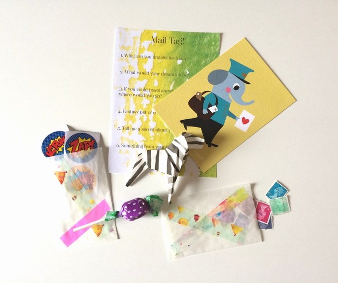 Happy Mail for Kids ideas