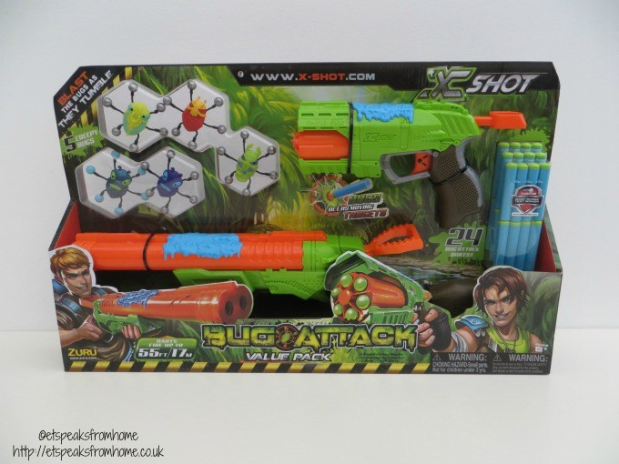 X-SHOT Bug Attack Combo Rapid Fire and Eliminator Review