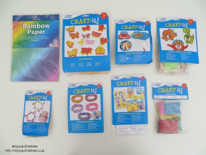baker ross craft it kits review summer holidays