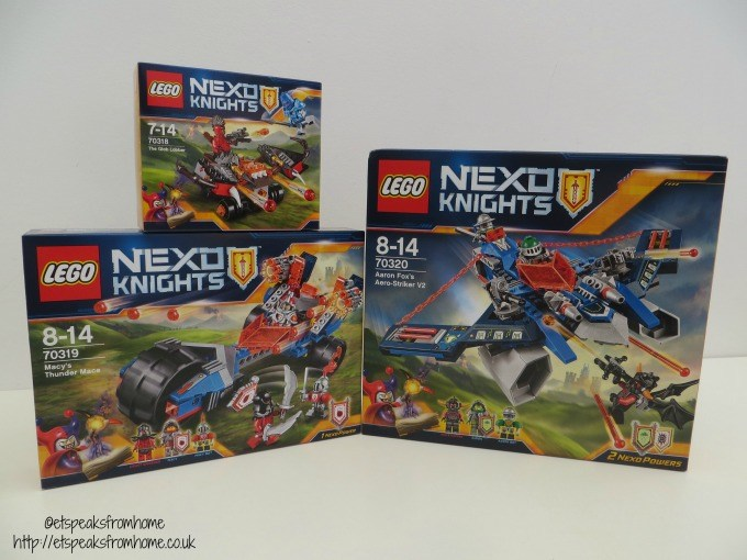 lego nexo knights review