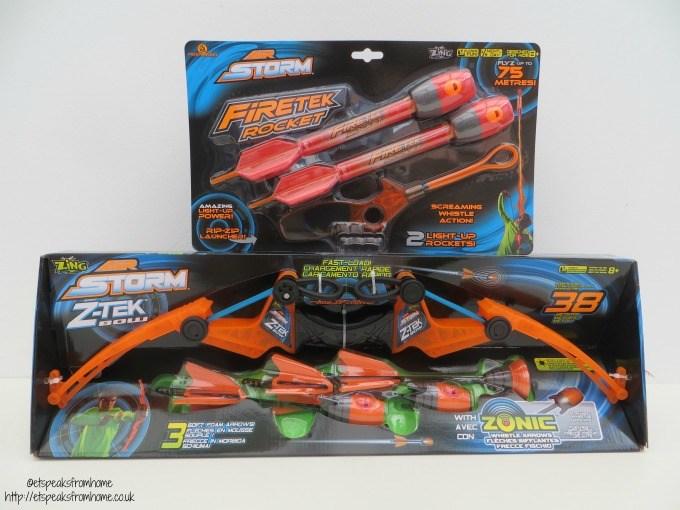 air storm z-tex bow & rocket