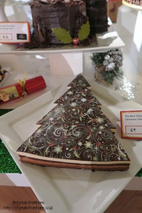 morrisons chocolate christmas tree