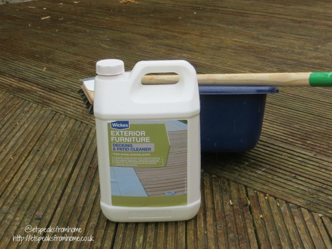wickes decking and patio cleaner