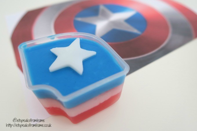 captain america shield jelly